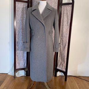 Talbots heavy gray pea coat (or great coat).